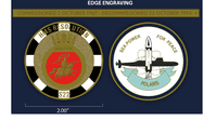 HMS Resolution Challenge Coin (with FREE name engraving)